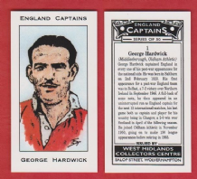 England George Hardwick Middlesbrough 1